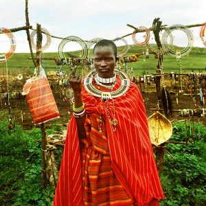 Nicolas Demeersman - Jewels seller, Massaï Village, Ngorongoro Crater, Tanzanie, 2015