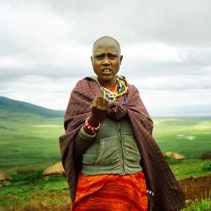 Nicolas Demeersman - The sick woman, Massaï Village, Ngorongoro Crater, Tanzanie, 2015