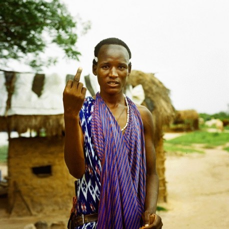 Nicolas Demeersman -Massaï Warrior, area of Singida, Tanzanie, 2015