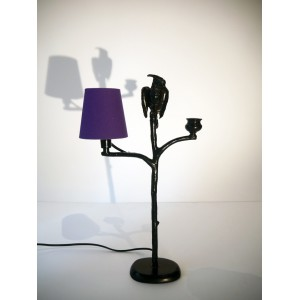 Lieux - Parrot and candlestick Lamp